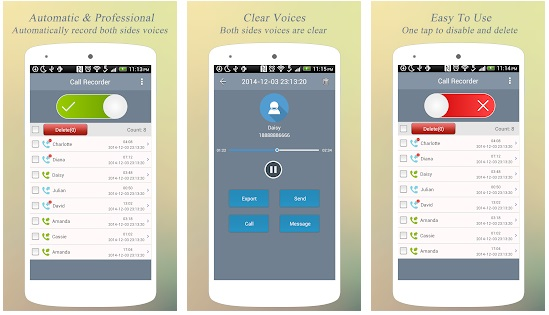 Best Call Recorder Pro for Android 2018