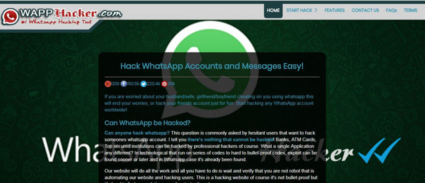 4 ways to hack someone's whatsapp without access to their phone